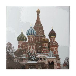 Saint Basil's cathedral_russo Ceramic Tile