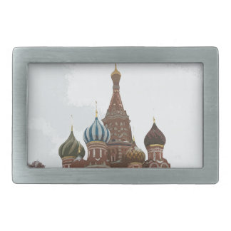 Saint Basil's cathedral_russo Rectangular Belt Buckles