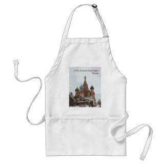 Saint Basil's cathedral_russo Standard Apron