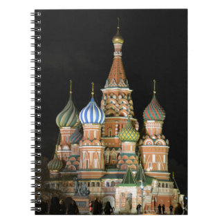 Saint Basil's Cathedral Spiral Notebook