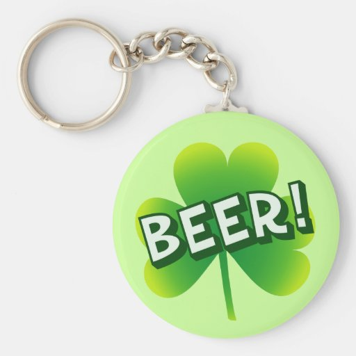 Saint Beer Day Key Chains