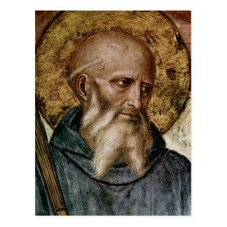 Saint Benedict Postcard