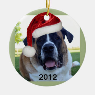 Saint Bernard 2012 Ornament
