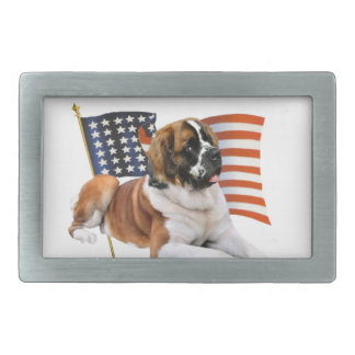 Saint Bernard All American Belt Buckles