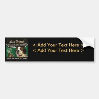 Saint Bernard Brand – Organic Coffee Company Car Bumper Sticker