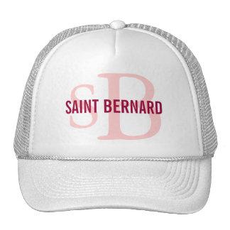 Saint Bernard Breed Monogram Cap