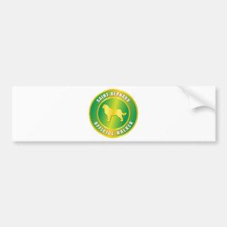 Saint Bernard Bumper Stickers