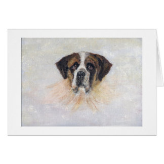 Saint Bernard Card