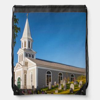 Saint Bernard Catholic Church With Old Hill Backpack