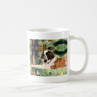 Saint Bernard Dog Coffee Mug