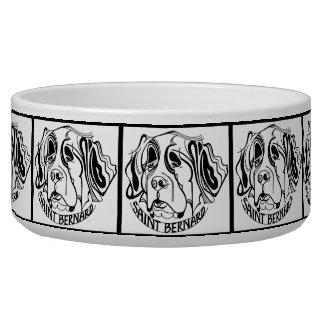 Saint Bernard Dog Doodle