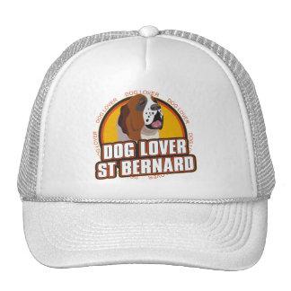 Saint Bernard Dog Lover Trucker Hats