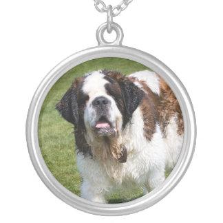 Saint Bernard dog necklace, gift idea