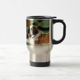 Saint Bernard Dog Travel Mug