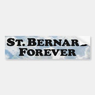 Saint Bernard Forever - Basic Bumper Sticker
