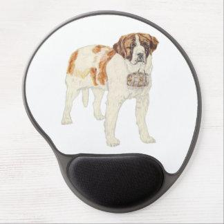 Saint Bernard Gel Mouse Pad