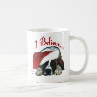 Saint Bernard I Believe Coffee Mug