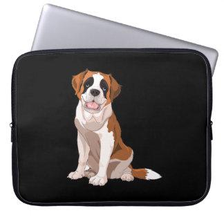 Saint Bernard Image Laptop Sleeve