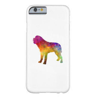 Saint Bernard in watercolor Barely There iPhone 6 Case
