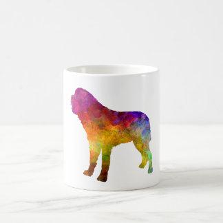 Saint Bernard in watercolor Coffee Mug