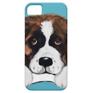 Saint Bernard iPhone 5 Case