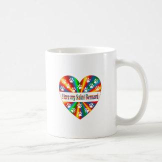 Saint Bernard Love Coffee Mug