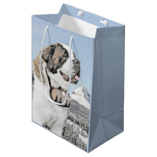 Saint Bernard Medium Gift Bag