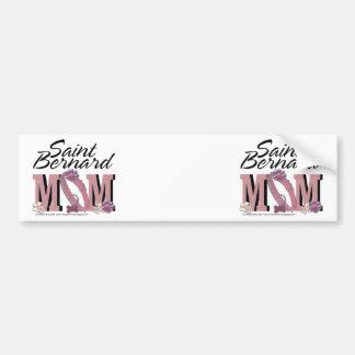 Saint Bernard MOM Bumper Sticker