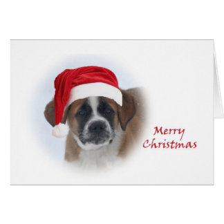 Saint Bernard Puppy #2 Card