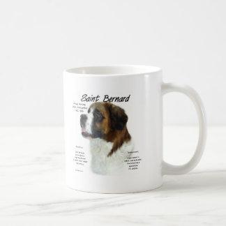 Saint Bernard (rough) History Design Coffee Mug