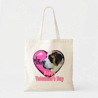 Saint Bernard Valentine's Day Bags