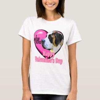Saint  Bernard Valentine's Day Gifts T-Shirt