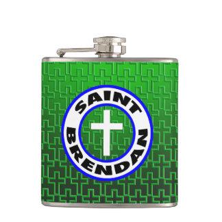 Saint Brendan Hip Flask