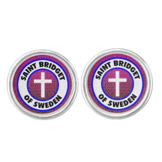 Saint Bridget of Sweden Cufflinks