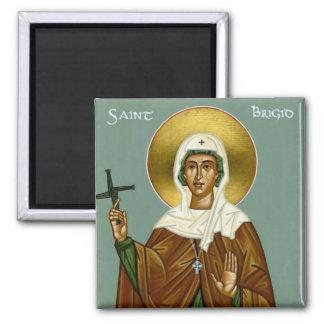 Saint Brigid's Cross Square Magnet