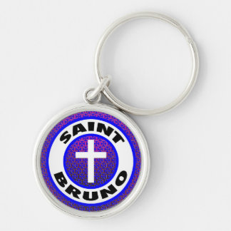 Saint Bruno Key Ring