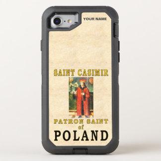SAINT CASIMIR  (Patron Saint of Poland) OtterBox Defender iPhone 8/7 Case