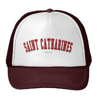 Saint Catharines Cap