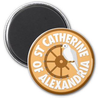 Saint Catherine of Alexandria Magnet