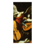 Saint Cecilia and the Angel by Carlo Saraceni Rack Cards