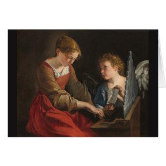 Saint Cecilia Card