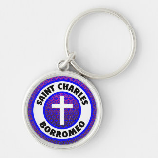 Saint Charles Borromeo Key Ring