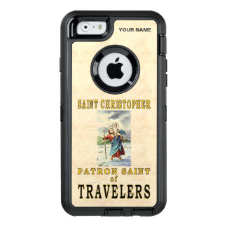 SAINT CHRISTOPHER  (Patron Saint of Travelers) OtterBox iPhone 6/6s Case
