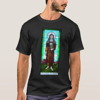 Saint Clare of Assisi shirt men's
