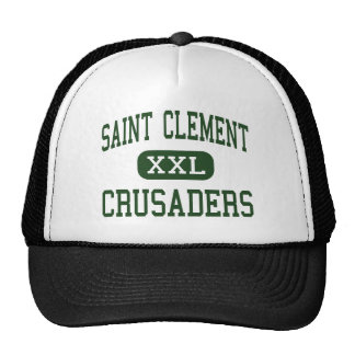 Saint Clement - Crusaders - Catholic - Center Line Trucker Hat