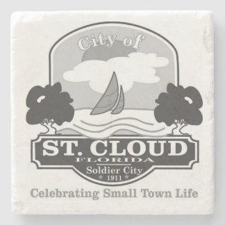 Saint Cloud, Florida Small Town Life Stone Beverage Coaster