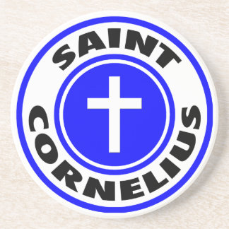 Saint Cornelius Coaster