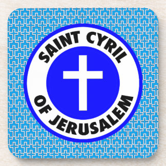 Saint Cyril of Jerusalem Coaster