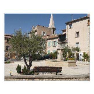 Saint Didier (Vaucluse) Photographic Print