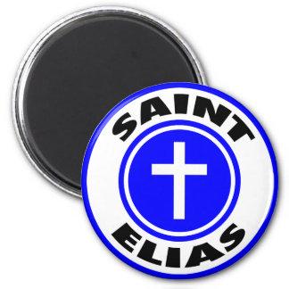 Saint Elias 6 Cm Round Magnet